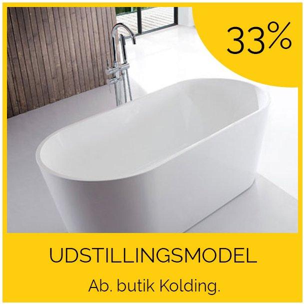 Oval Ultraslim 120 - fritstående badekar