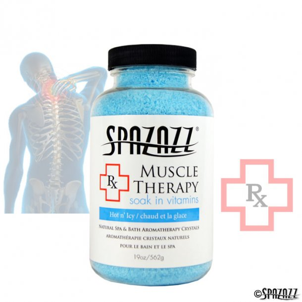 Spazazz Terapi krystaler - Muskel terapi