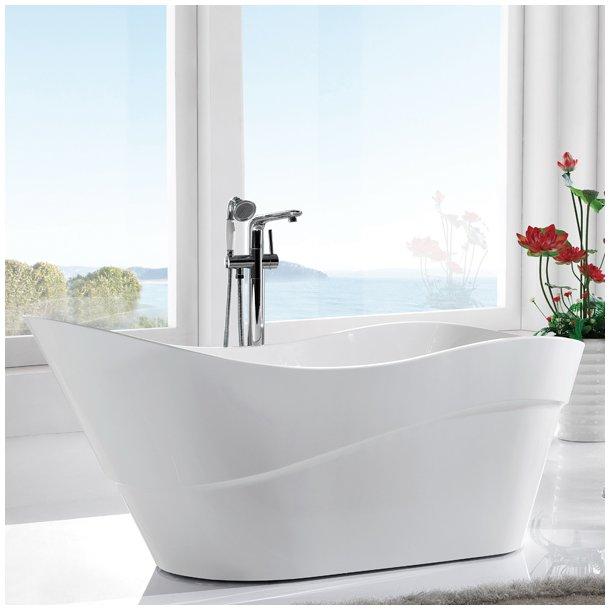 Badekar - Fleur 170 fritstående badekar