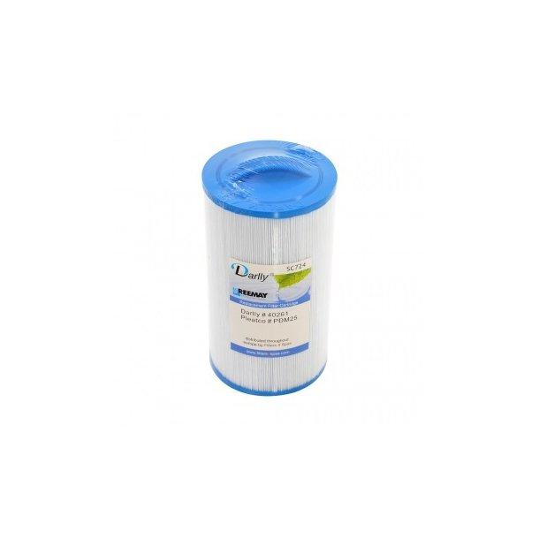 Spafilter - Højde 21,0 cm