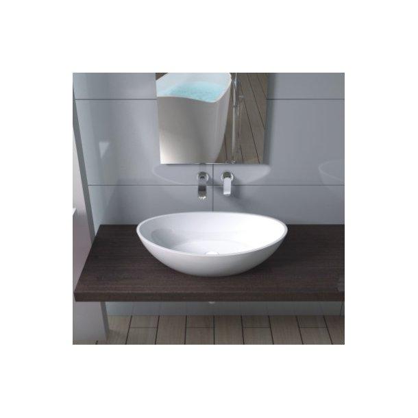 Ubrugte Håndvask i helstøbt Solid Surface. DJ-48
