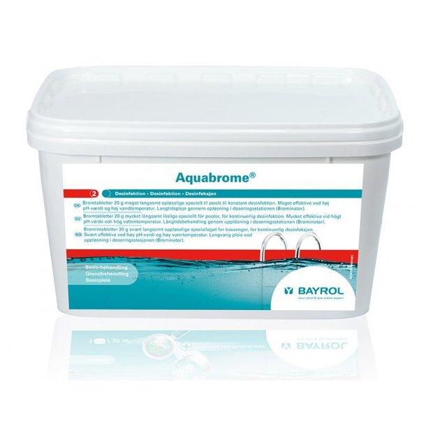 Bromintabletter - Bayrol Aquabrome 5 kg.