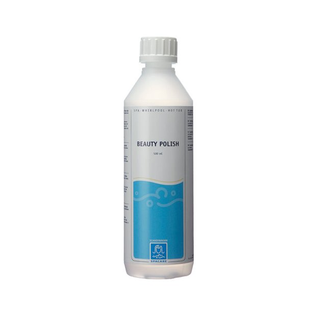 Beauty Polish 0,5l. til spa og badekar i acryl.