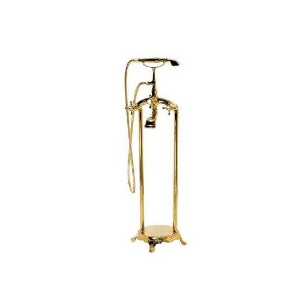Classic gulvarmatur i Guld/Bronze til badekar