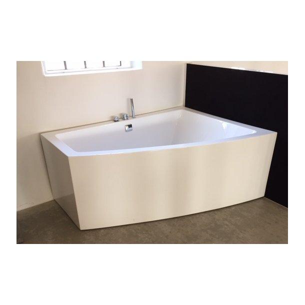 Badekar - Lima 160 - helstøbt badekar med armatur