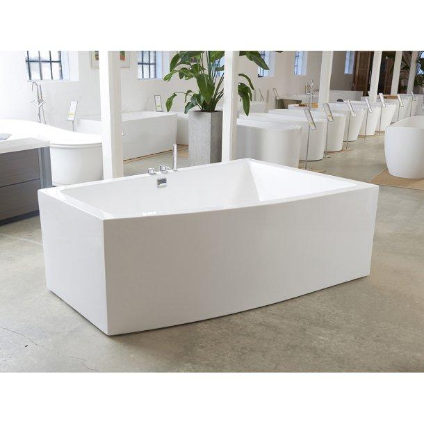 Badekar - Lima 180 - helstøbt badekar med armatur